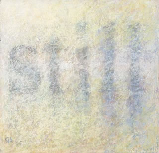 Gordon Aitcheson giclee print: Still II chalk pastel original